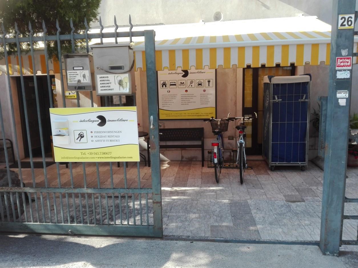 Interlingua immobiliare a Lazise