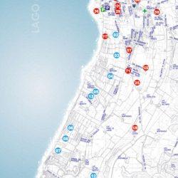 Mappa Lazise gardesana